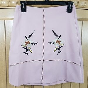 Boohoo Embroidered Skirt, sz 6